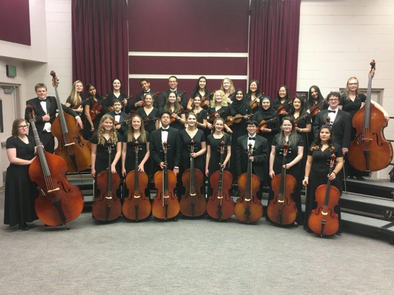 Grandview High School Performing Arts Concert Orchestra 2019 2020