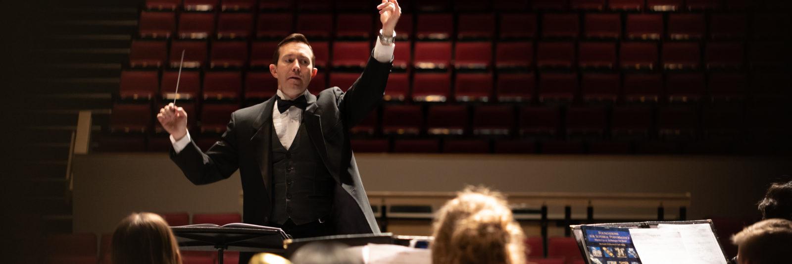 Keith Farmer Grandview High School Band Director