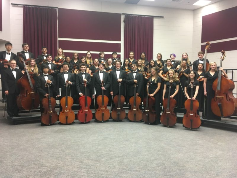 Grandview High School Performing Arts Symphonic Orchestra 2019 2020