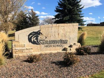 Grandview High School Sign