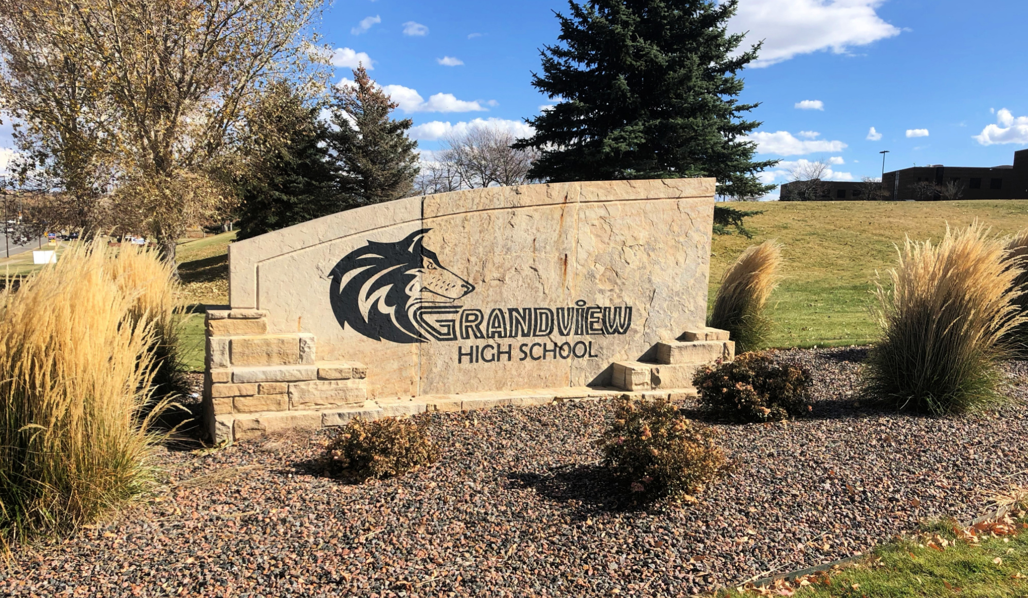 Grandview High School Sign