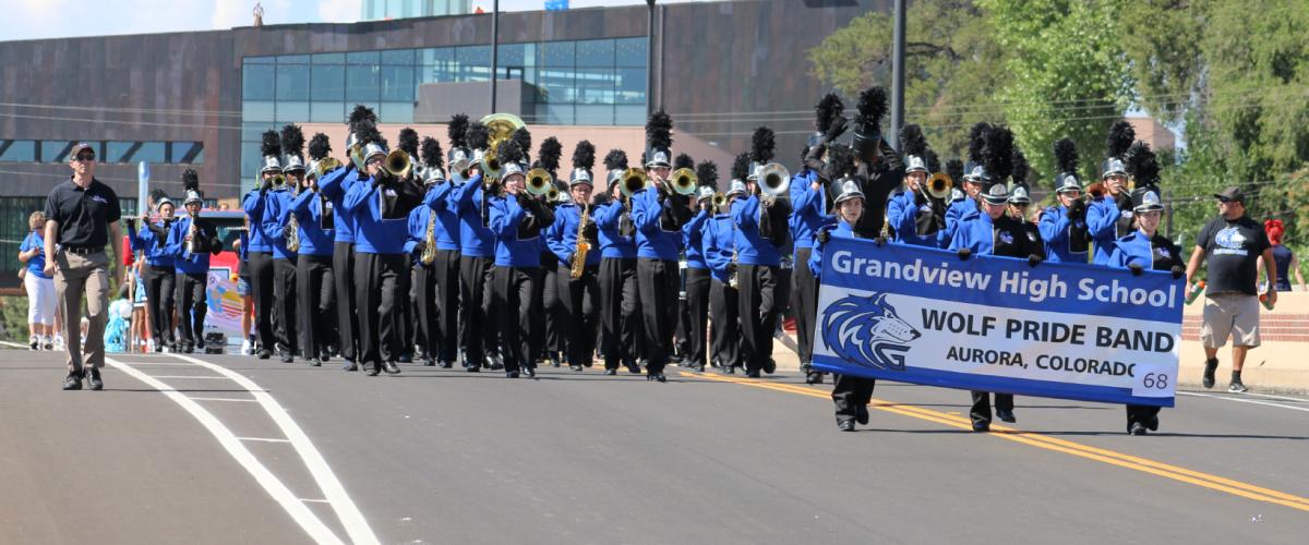 Wolf Pride Band Parade