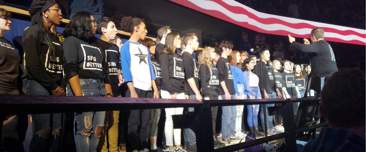 Chamber Singers Pepsi Center